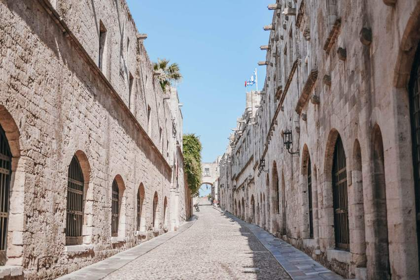 rhodes island tours old town